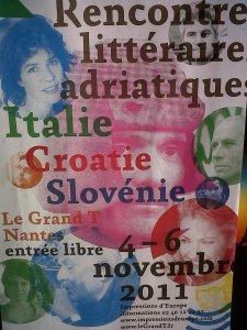 rencontres littéraires adriatique