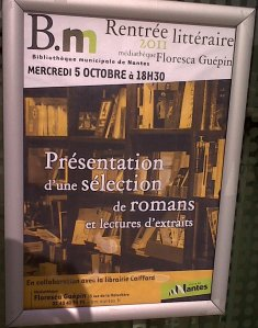 Rentrée littéraire 2011