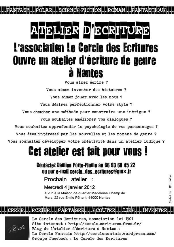 Affiche du 4 janvier 2012