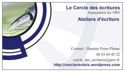 Modele Carte De Visite Association Calendriers Agendas Cartes