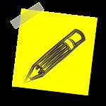 crayon-jaune