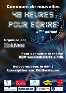 Affiche-48-heures-pour-écrire-2ème-édition