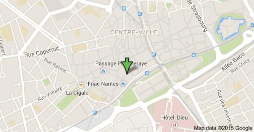 localisation google place du commerce