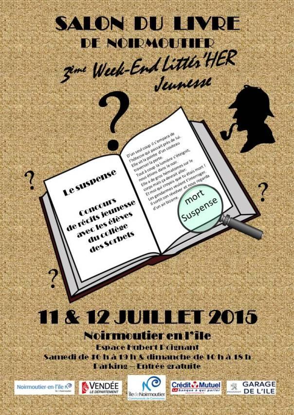 Salon du Livre de Noirmoutier 2015