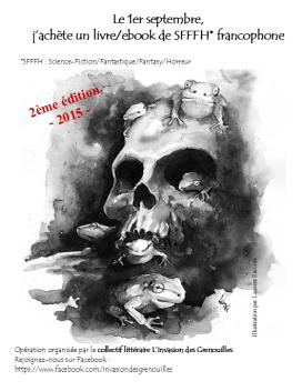 Le 1er septembre j'achète un livre-ebook de SFFFH francophone - 2015